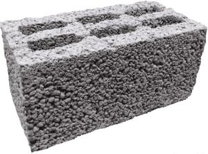 Керамзитобетон блок 390х188х190мм полнотелый фбс янао бетон